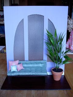 THE FASHION DOLL REVIEW: 2012 IFDC backdrops...and a few tips on how to create your own!