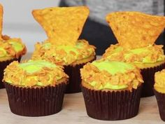 Dream Or Nightmare: Mountain Dew Doritos Cupcakes