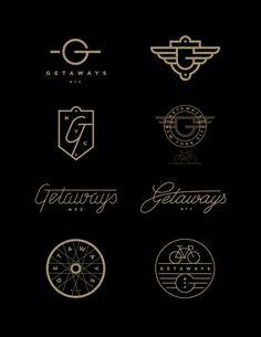 getaways. j fletcher design #design #graphicdesign #logo #logodesign #typography #vintage #retro
