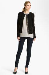 Vince Wool & Leather Jacket