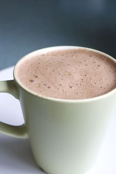 Hot Carob Drink #vegan