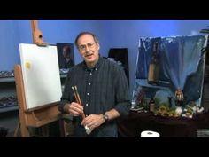 Free Art Lesson - James Sulkowski - Palette Setup - YouTube
