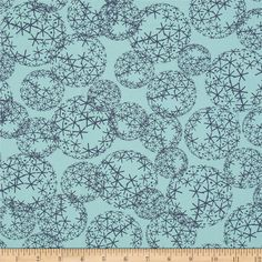 Designed by Zen Chic for Moda, this cotton print is perfect for quilting, apparel and home decor accents.  Colors include dark aqua and navy.