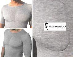 Funkybod, the push-up bra for men