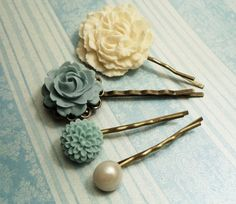 Vintage style hairpins