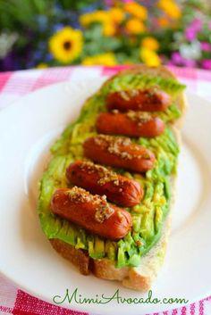 Little Goodies™ on Avocado Toast | Mimi Avocado