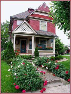 A beautiful Victorian home in Auburn, Indiana.