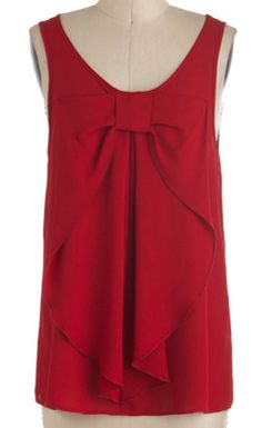 Darling red bow top http://rstyle.me/n/ktpqmnyg6