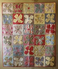 spring fever quilt (certifiably crazy book from buggy barn)
