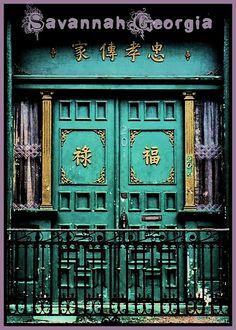 Savannah Door by swampzoid on Flickr.