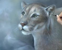 How to Paint Fur – Describe Texture When Painting Animal Fur - Blog for Artists  www.artapprenticeonline.com paint anim, artsypaint item, animal paintings, paint fur, anim fur, art tutori, anim dan, dan lart, artist