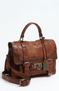 rustic frye satchel #obsessed