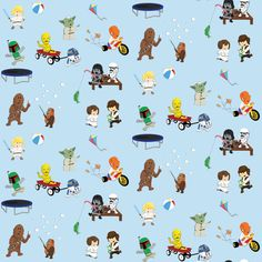 Star Wars baby fabric