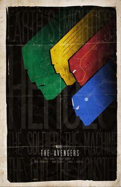 Vingadores, poster do Filme.