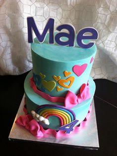 rainbow dash cake - Google Search