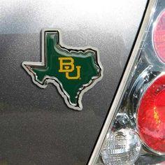 #Baylor Bears Team Logo Color Chrome Auto Emblem