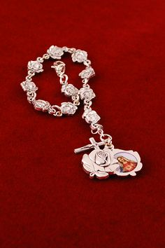 Rose Petal Rosary Bracelet #CatholicCompany