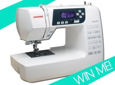 Win a Janome 3160QDC from Hart's Fabric
