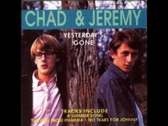 """A Summer Song"" Chad  Jeremy - 1964 YouTube I thought that these two harmonized very well."