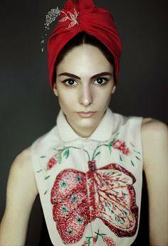 Embroidered anatomy  |  Nastya Klimova & Liza Smirnova collab for OMUT