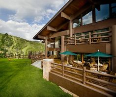 Stein Eriksen Lodge, Park City, UT  Timeless Norwegian-style mid-mountain chalet at Deer Valley ski resort, committed to raising $100,000 for cancer research through philanthropic programs. Doubles from $250–$839, including breakfast.