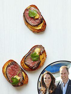 Get the Recipe!: Giada De Laurentiis's Beef Tenderloin Crostini (she made it for the royal couple)