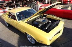 Past #OUSCI competitor vehicle built by Mark Stielow and owned by Charley Lillard- Jackass #Camaro at SEMA 2010