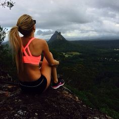 On top of the WORLD #fitspo