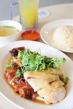 Tian Tian Hainanese Chicken Rice:  443 Joo Chiat Road Tel: +65 6345 9443 Daily: 10.30am – 10.30pm  Maxwell Road #01-10/11 Maxwell Food Centre Tel: +65 9691 4852 Tue to Sun: 11am – 8pm