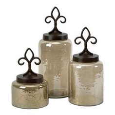 3 Piece Loire Jar Set