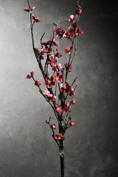 Red Silk Blossom Branches 42 in. Artificial $12.99 each / 3 for $11 each