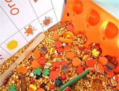 Harvest Treasure Hunt Sensory Tub