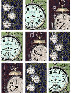 steampunk art, clock print, art journal, vintag art, white printabl, card ideasclock, clocks, sherlock, steampunk printabl