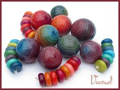 Veesuel (Vee), Vortex Beads, polymer beads vortex2jpg 750567, inspir fimo, polym bead, polym clay, clay idea, polymer clay, jewelri, clay inspir, polymer beads