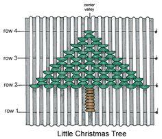Christmas tree smocking