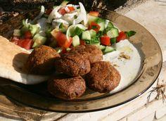 arabic falafel recipe