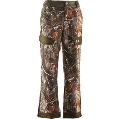 Perfect for pheasant/grouse hunting! Under Armour womens camo #CabelasWishList