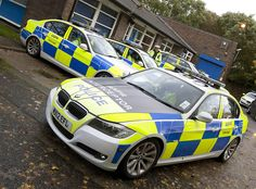 BMW 3-series of the Manchester Police