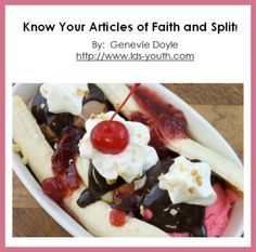 Article of Faith activity