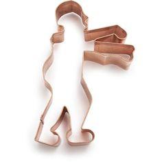 Hahahaha....Zombie Copper Cookie Cutter | Sur La Table- Walking Dead premiere party, perhaps? :)