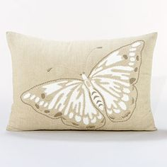 Butterfly Lumbar Throw Pillow | World Market