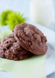 Chocolate Chocolate Chip Cookies
