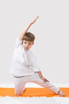 Gate Pose from The Yoga Kids » Yoga Pose Weekly