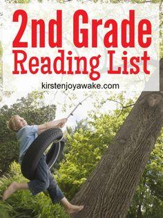 Second Grade Reading List