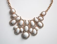 It's a Sparkly Necklace kind of a day :-) Statement Jewelry pieces @a regina Accessories www.aaraa.com