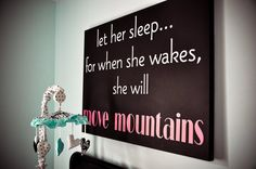 Let her sleep children Vinyl Lettering wall by itswritteninvinyl, $16.22
