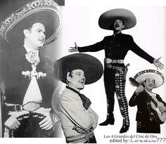 Antonio Aguilar, Pedro Infante, Jorge Negrete, Luis Aguilar