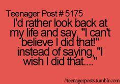 life....live it