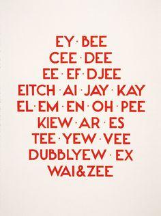 abc, tauba auerbach, stuff, letter, taubaauerbach, funni, art, alphabet, spell