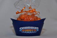 Skylander Giants Birthday Party Favor Tubs set of 12